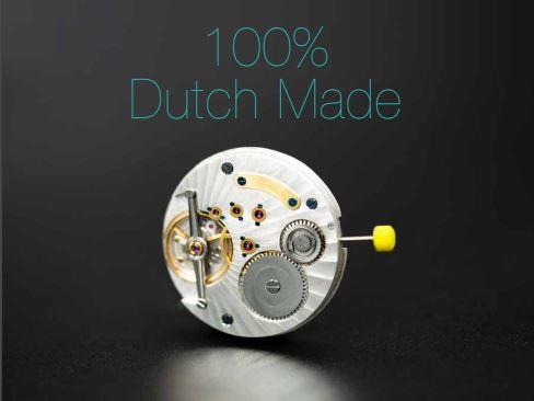 The first 100% dutch inhouse movement